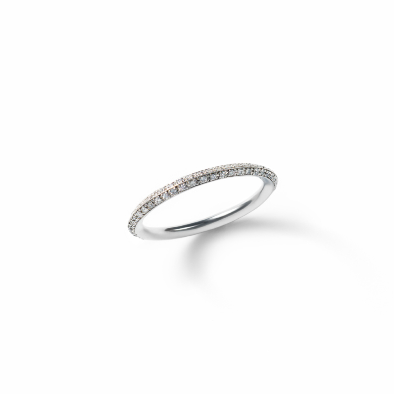 MATERIAL : Platinum900 Marriage Ring / Diamond